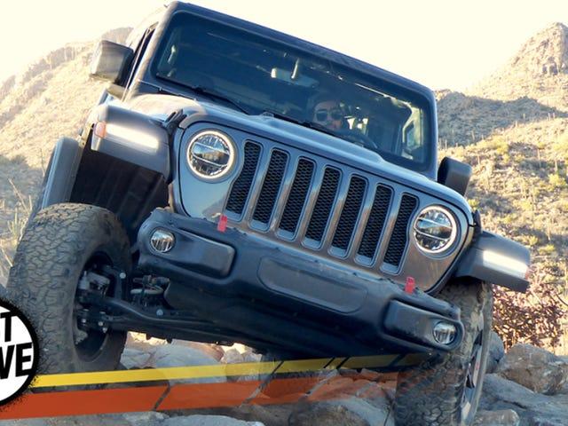 2018 Jeep Wrangler blev inte mjuk, det blev mycket bättre