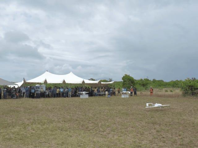 Drone entrega vacinas para bebês na ilha-nação de Vanuatu em vôo histórico