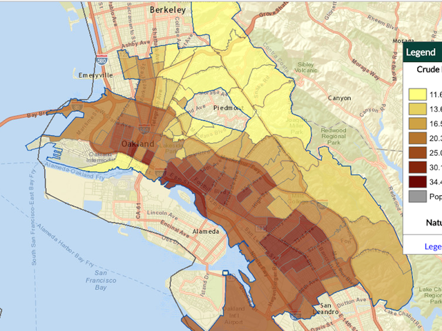 Interactive Map Shows How Healthy (or Unhealthy) Your Neighborhood Is
