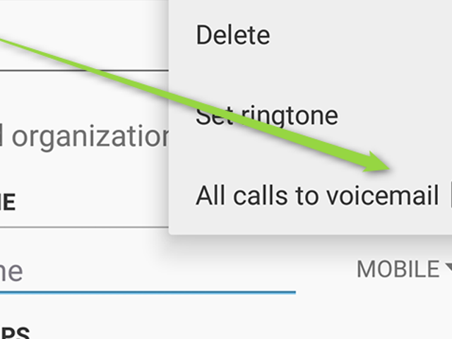 Automatically Ignore Annoying Callers with Android Contact Settings