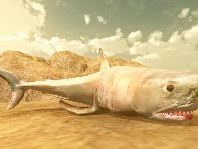 どこでも血がある:YouTube Sharkビースト・バトル・シミュレーター・ストーリー