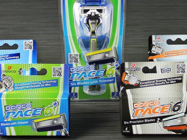 Find Your Favorite Dorco Razor With the Pace Trial Pack, Now 50% Off
