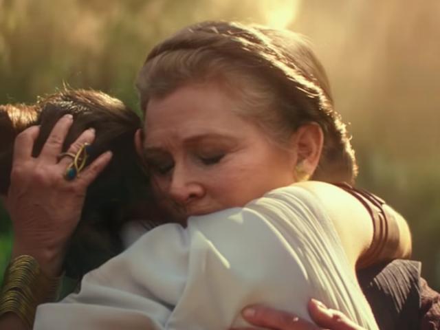 J.J. Abrams rodó The Rise of Skywalker con las escenas de Carrie Fisher que no se usaron en The Force Awakens