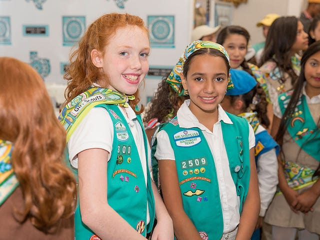 The Girl Scouts Will March nella sfilata inaugurale di Donald Trump