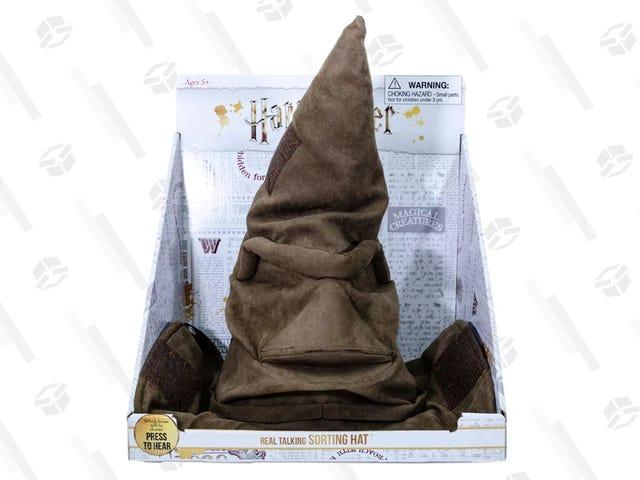 You Can Finally Belong at Hogwarts If You Buy This $10 Talking Sorting Hat