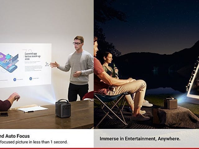 Save $125 On Anker's Mid-Range Portable Projector