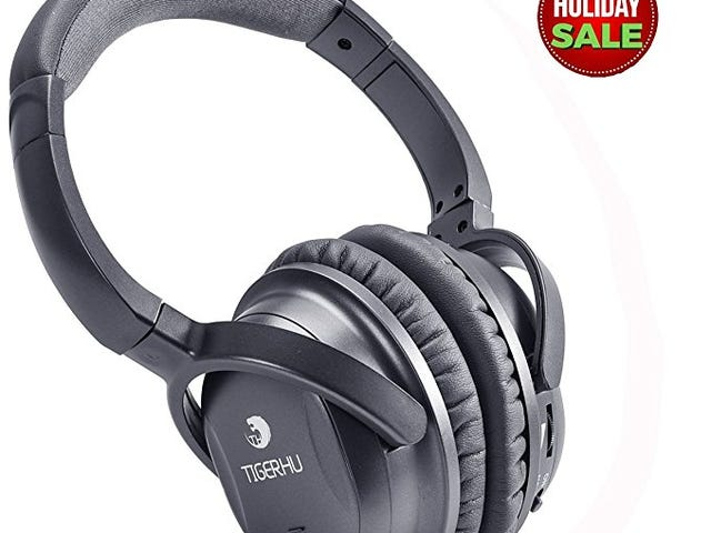 35% Off Tigerhu Over-ear Active Noise Cancelling Headphone on Amazon