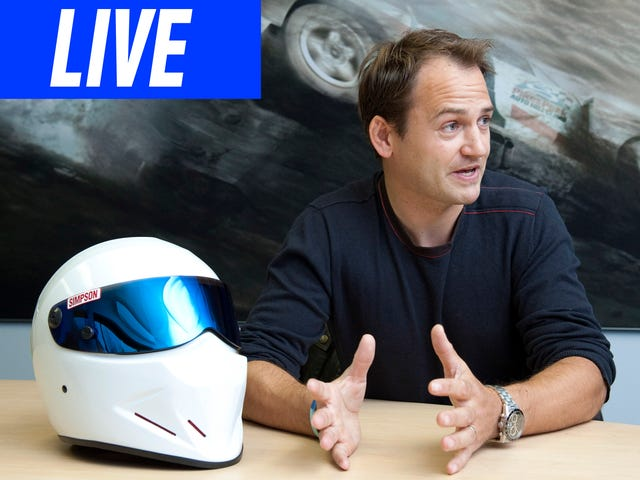 Ask Top Gear's Former Stig And Racing Driver Ben Collins Anything You Want