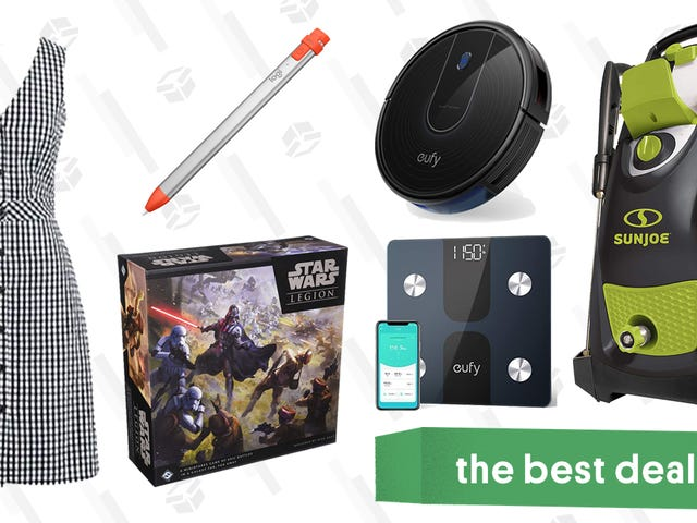 Monday's Best Deals: Pressure Washer, J.Crew Factory, HP Printer, and More