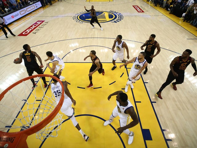 Watching The NBA Finals At Oracle Arena With The Overlords And Oligarchs In Club Prick