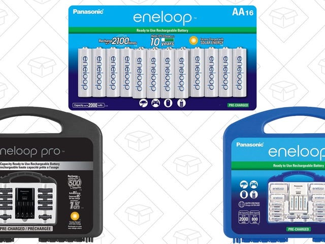 Amazon's Blowing Out the Best Rechargeable Batteries, Today Only