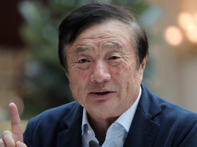 CEO da Huawei diz que EUA não é tão importante, Pinky-Swears não espiar na rede 5G