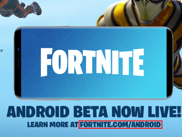 Please Don't Download Fortnite for Android From Sketchy Places