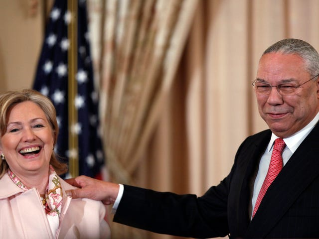 Hillary Clinton Asked Colin Powell for Advice on Bypassing State Department Security Measures