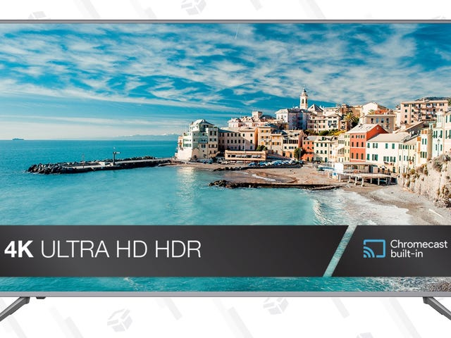These Ultra-Affordable 4K TVs Include HDR and Chromecast