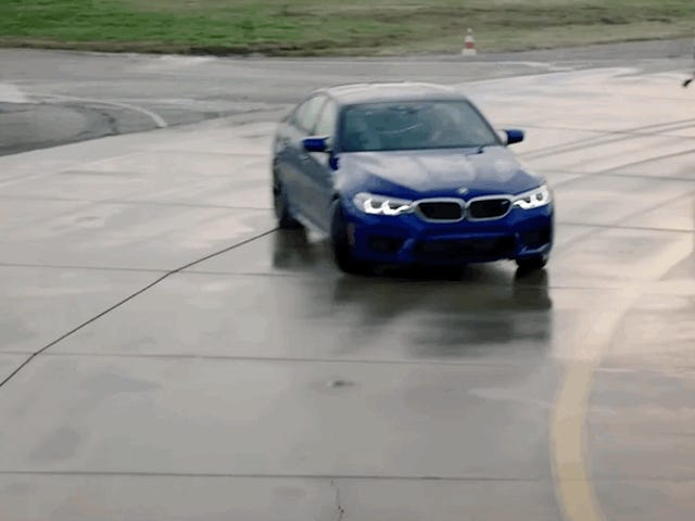 BMW Invented Mid-Drift Refueling Just To Reclaim Its Record For World's Longest Drift