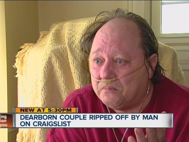 Dealership donerer Minivan til par som ble scammed på Craigslist