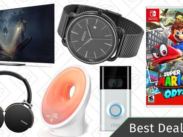 Όλες οι καλύτερες προσφορές: Τηλεοράσεις OLED, Ρολόγια Ημέρας του Αγίου Βαλεντίνου, Mario Odyssey, και Περισσότερα
