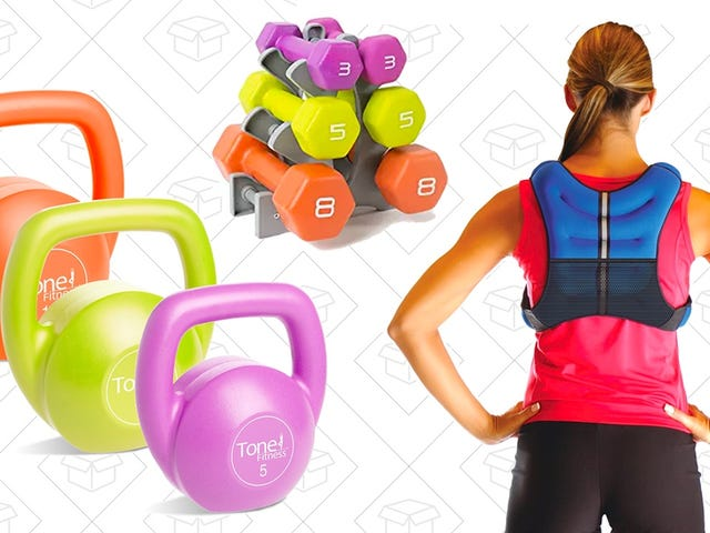Tone Up Without Straining Your Wallet With This Sale on Tone Fitness Equipment