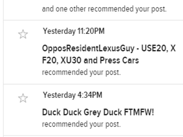 Hey look, Kinja fixed the notifications dropdown