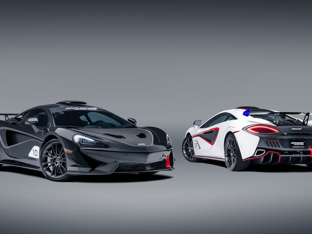 McLaren Made 10 Road Cars That Look Like Race Cars But Aren't