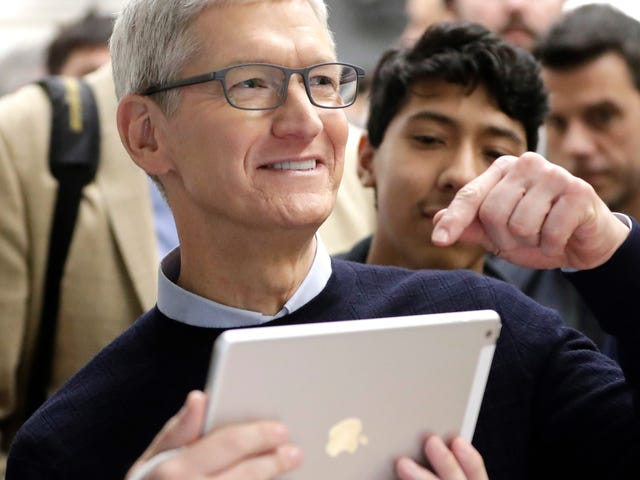 Apple Will Spend $100 Billion of That Cash It Stashed Abroad Buying Back Its Own Stock