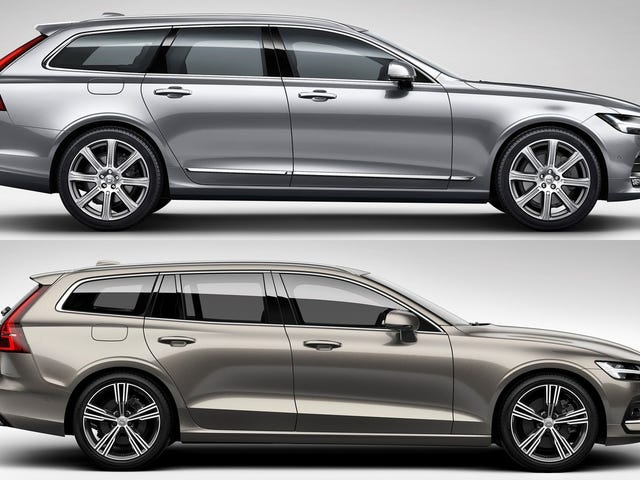 Here's How The Volvo V90 Compares To The New Volvo V60