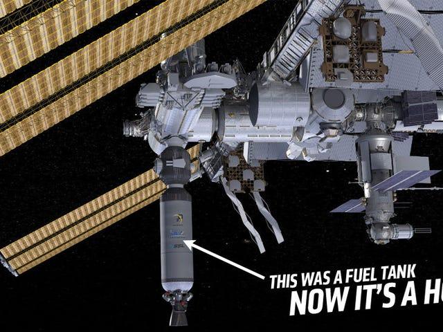 NASA vill göra rymdhabitater från orbiting raketbränsletankar