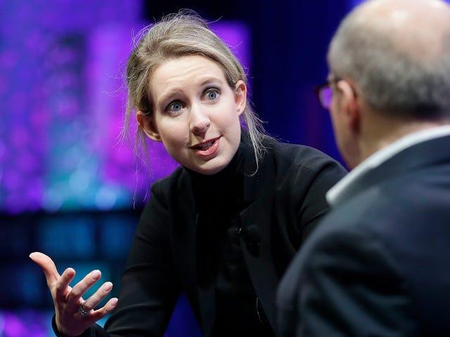 Pengasas Theranos Elizabeth Holmes Telah Menetapkan Tarikh Percubaan untuk Musim Panas 2020