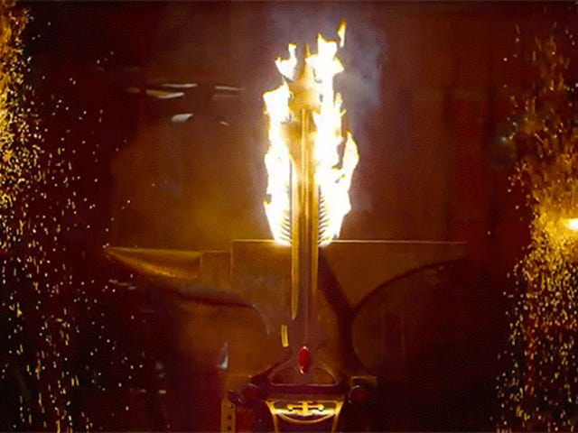 Blacksmiths Build the Flame-Spitting Sword from Voltron