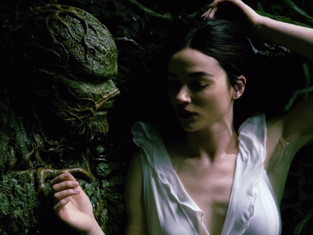 Swamp Thing Gets Steamy in Its New Teaser Trailer