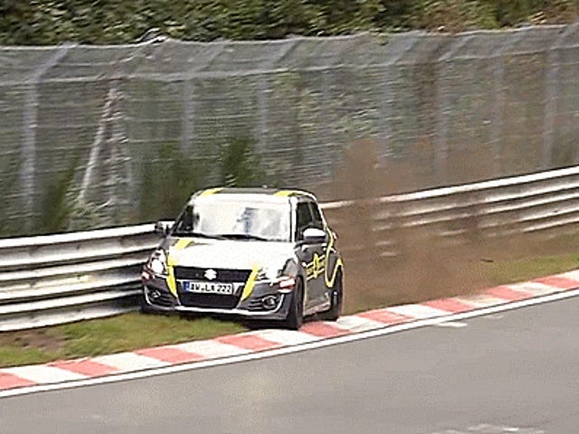 Behold These Crazy Supercuts Of 2016 Nürburgring Crashes And Mayhem