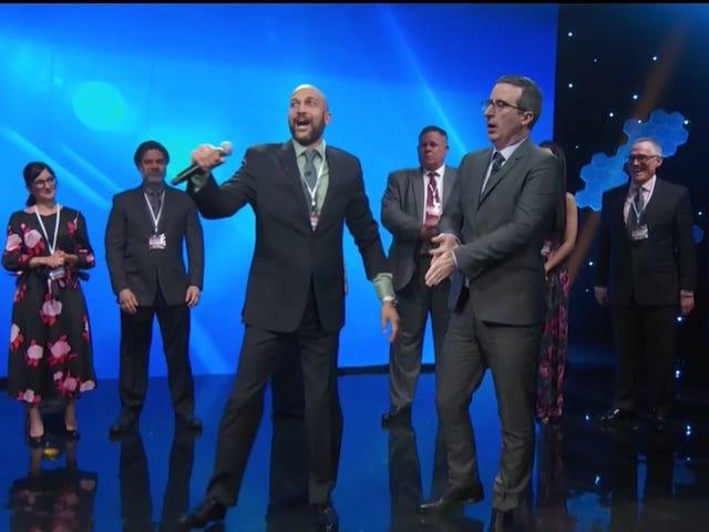 John Oliver and Keegan-Michael Key rain on your Bitcoin-raining dreams on<i> Last Week Tonight</i>
