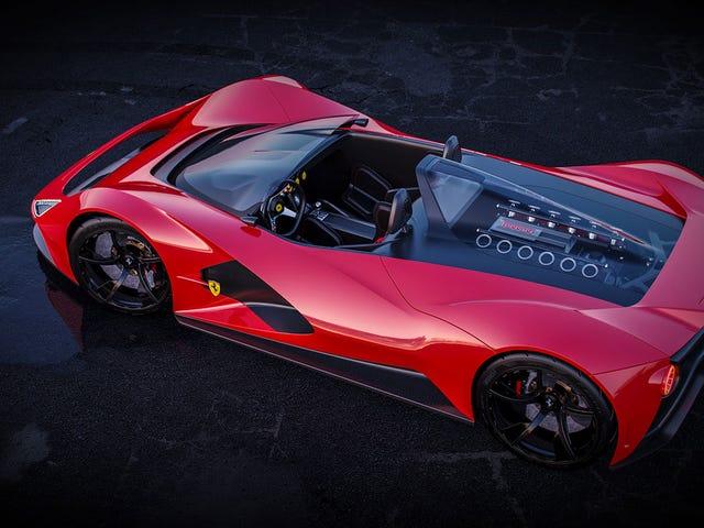 Ferrari Aliante Barchetta (personal project)