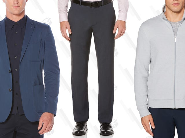 Perry Ellis Lets You Stack Three Different Deals On Their Already-Affordable Sale Section This Weekend