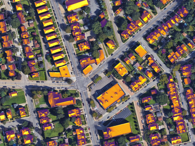 Thinking About Solar Panels? See How Much Sun Your Roof Gets With This Map