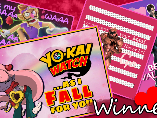 'Shop Contest: Valentine's Day Cards, Winners!