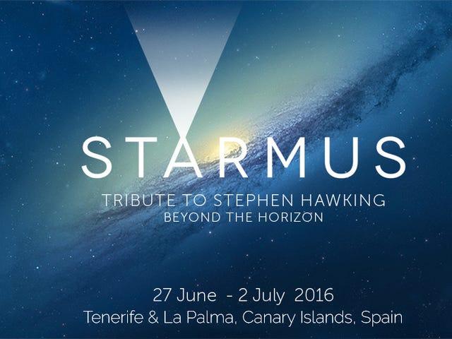 Starmus 2016. Once Premios Nobel y siete astronautas, reunidos en Tenerife.