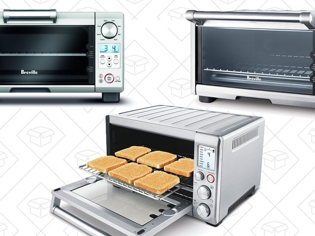 Three Different Models Of Our Readers' Favorite Toaster Ovens Are On Sale