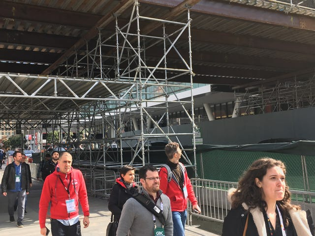 GDC 2018 Is In The Middle Of A Construction Zone