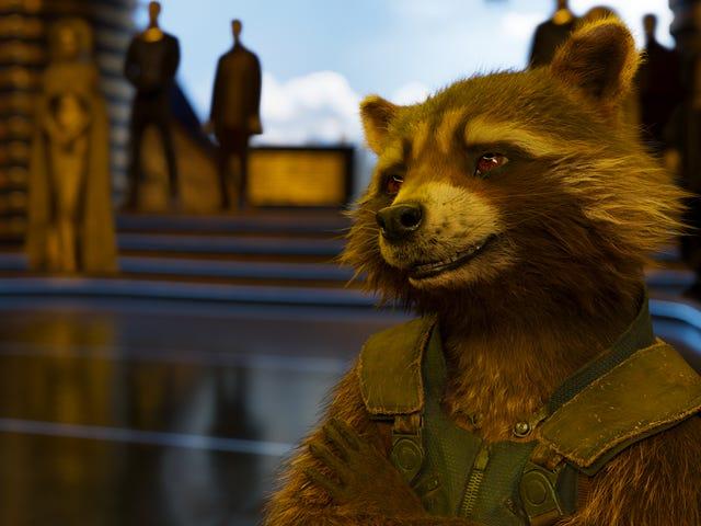 Nunca verás igual a Rocket Raccoon después de ver cómo grabaron sus escenas en Avengers: Endgame