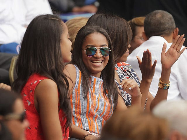 Sasha Obama Steps Out for Prom, Looking as Graceful as Only Michelle's Daughters Can