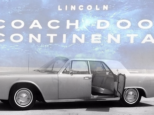 Looks Like Lincoln Will Bring Back Suicide Doors After All
