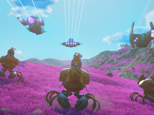Interview: No Man's Sky Beyond Creator On New Multiplayer Features, Taming Animals, And More