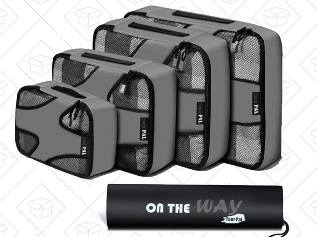 These Affordable Packing Cubes Make Travel a Little More Bearable