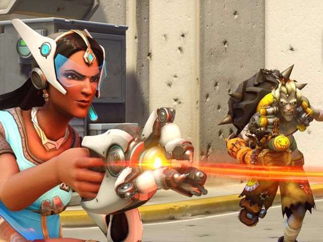 """<a href=""""https://games.avclub.com/overwatch-embraces-the-power-of-positivity-1798188205"""" data-id="""""""" onClick=""""window.ga('send', 'event', 'Permalink page click', 'Permalink page click - post header', 'standard');""""><i>Overwatch</i> embraces the power of positivity</a>"""