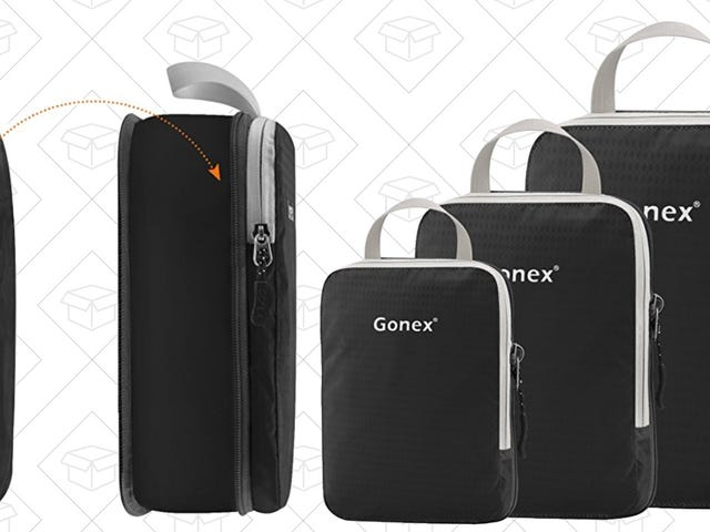 These Discounted Packing Cubes Include Zippable Expansions