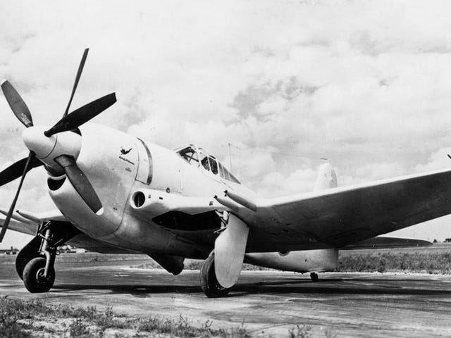 The Curtiss XF14C: Not the F-14 you are looking for