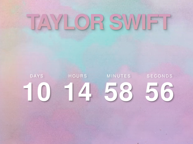 Taylor Swift Is Counting Down to Something