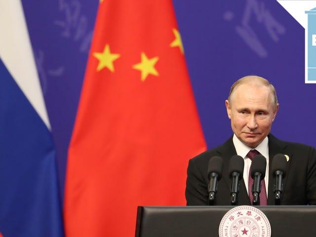 Vladimir Putin ei usko, että olisi ollut mitään yhteistoimintaa.